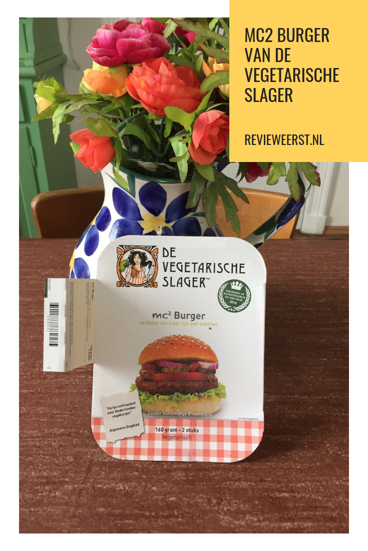 MC2 burger vegetarische slager