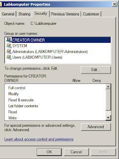 Aktifkan Audit File