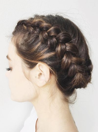 91 beautiful french braid hairstyles for ladies hairstylo