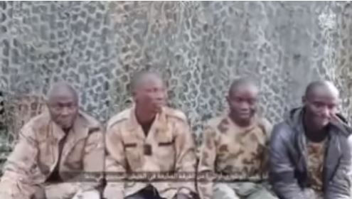 New Video Released By Boko Haram Showing Nigerian Soldiers They Captured During Battle In Borno (Video)