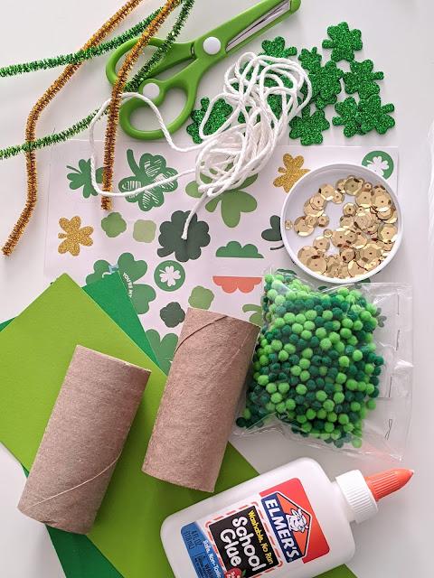 supplies for leprechaun binoculars
