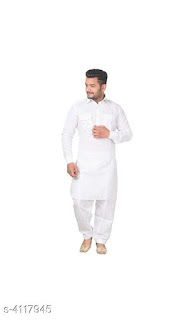 Cotton Kurta Pyjama Set