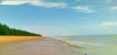 Wisata Pantai Pulau Slimpai Paloh Sambas