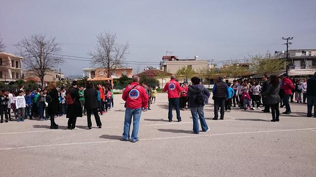 «Αντιμετώπιση Σεισμού» με την Ελληνική Ομάδα Διάσωσης Αργολίδας στο Δημοτικό σχολείο Νέας Κίου