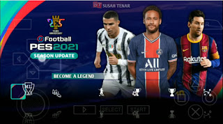 Download PES 2021 PPSSPP English Version CV1.0 New Update Winter Transfer & Best Camera PS5