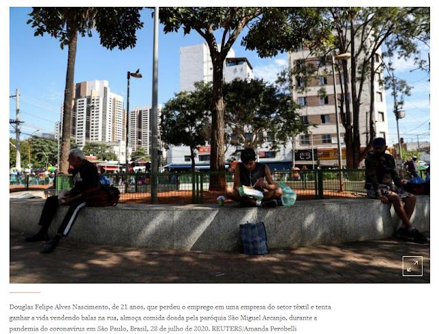 Milhões de brasileiros voltarão à pobreza se auxílio emergencial for interrompido, mostra estudo