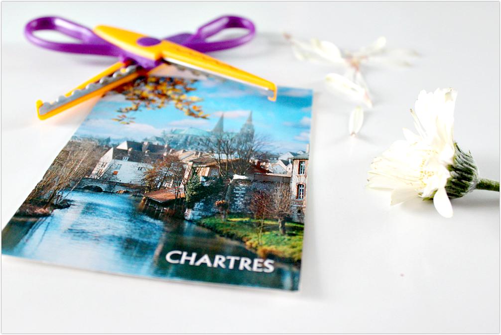 Chartres, miasto w centralnej Francji.