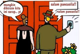 Poligami dan Salam Pancasila NKRI