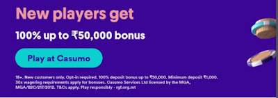 Online casino India Bonus