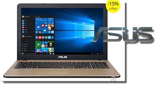Laptop Asus X540LJ, Μόνο 399€
