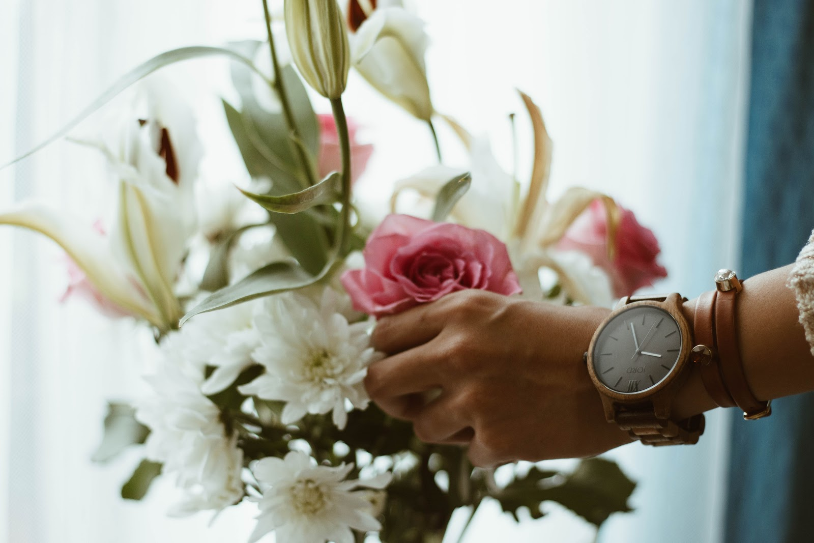 photo of watch as Valentine's day gift