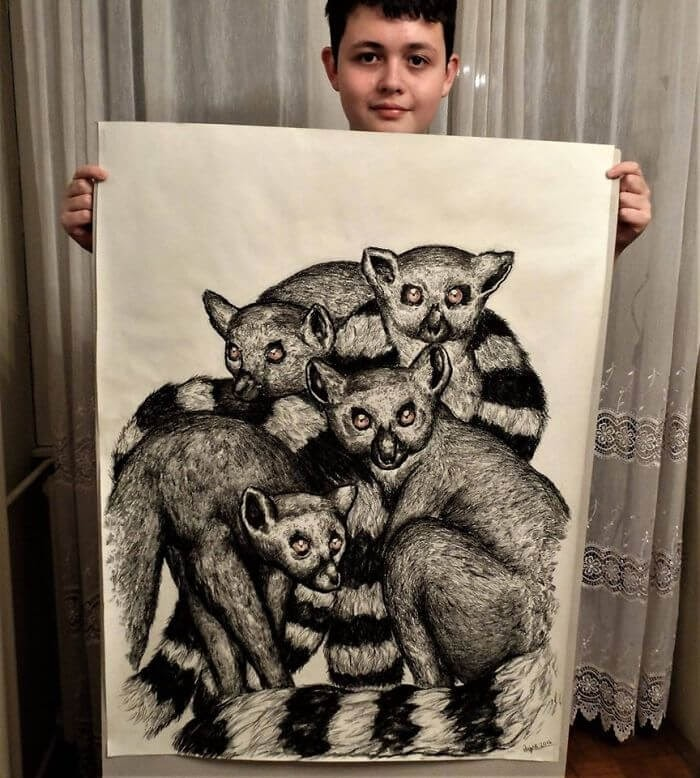 08-Lemur-Dušan-Krtolica-No-Reference-Drawings-come-from-Memory-www-designstack-co
