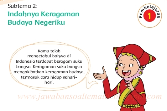 Kunci Jawaban Buku Tematik Kelas 4 Tema 7 Halaman 51, 53 ...