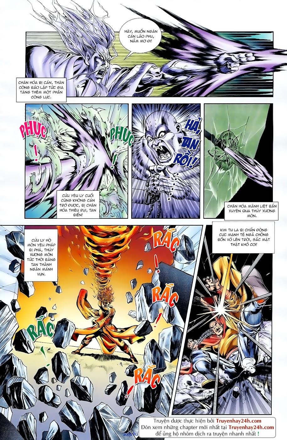 Cơ Phát Khai Chu Bản chapter 97 trang 23