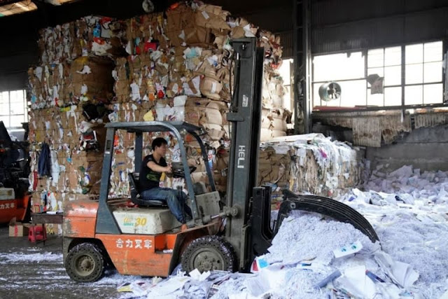 Paper Scrap Import Data and what is contains