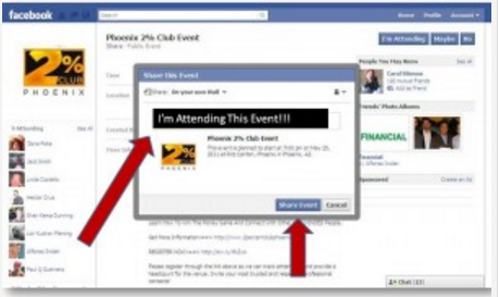 How To Share An Event On Facebook
