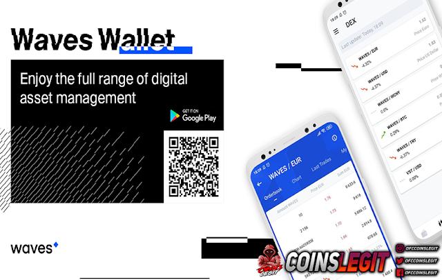 Cara Membuat Waves Wallet Untuk Claim Airdrop