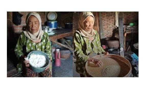 Sedih, Nenek Ini Hidup Sendirian & Biasa Makan Singkong, Anggap Nasi Makanan Mewah