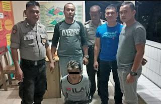 Polsek Tenga Amankan Pelaku Kasus Pencurian Di Desa Pakuweru