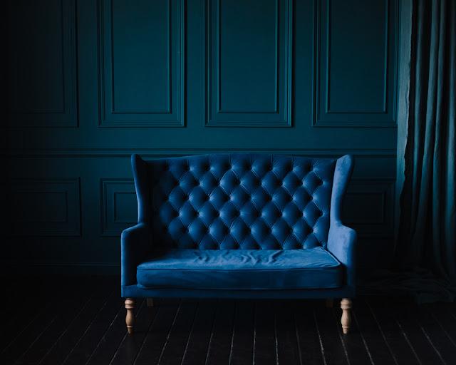 blue interior paint color
