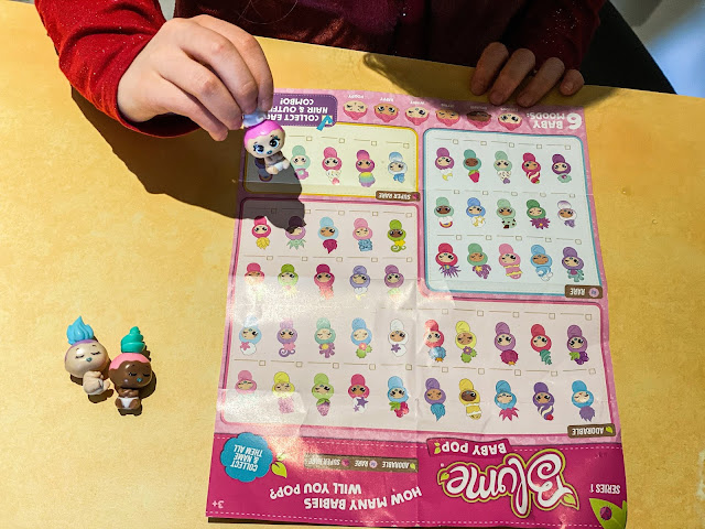 Looking at the Blume Baby Pop collectors map to see which ones we got