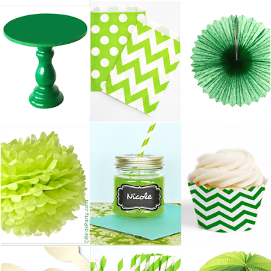 St Patrick's Day Green & White Party Ideas
