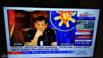 Duterte Late Night Show