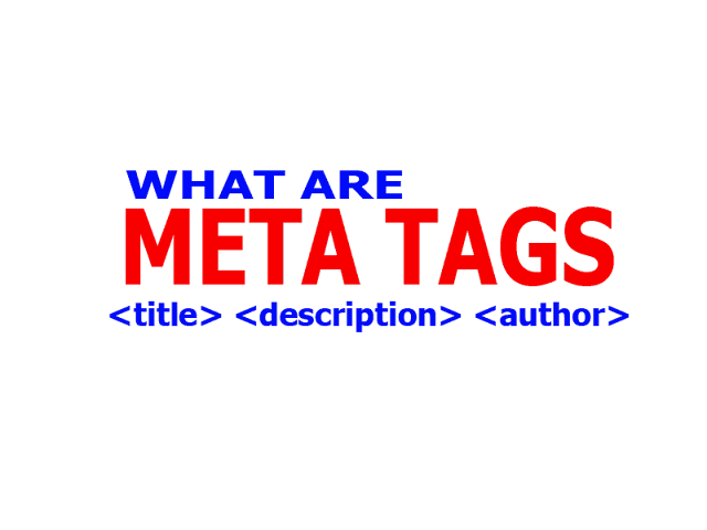 What are meta tags and their importance in 2019 | HumbleTricks, meta tag, important meta tags