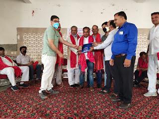 पत्रकारों के होली मिलन समारोह में पहुॅचें उपजा के प्रान्तीय महामंत्री रमेश चन्द जैन | #NayaSaberaNetwork