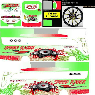 Download Livery Bus Speed Rader