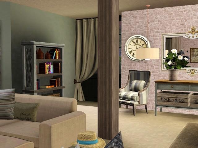 Décoration rustique Sims 3