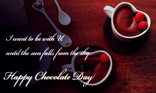 chocolate day i love you