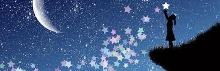 bambina che coglie una stella