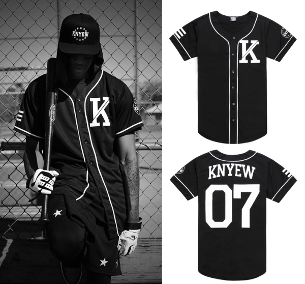Customized Baseball Jersey Bordir dan Sablon