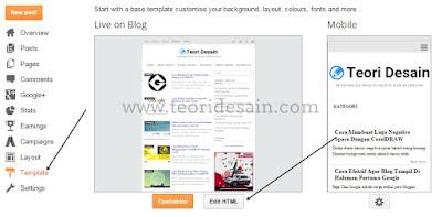 Menampilkan Iklan Adsense Versi Mobile Pada Widget langkah ke tiga