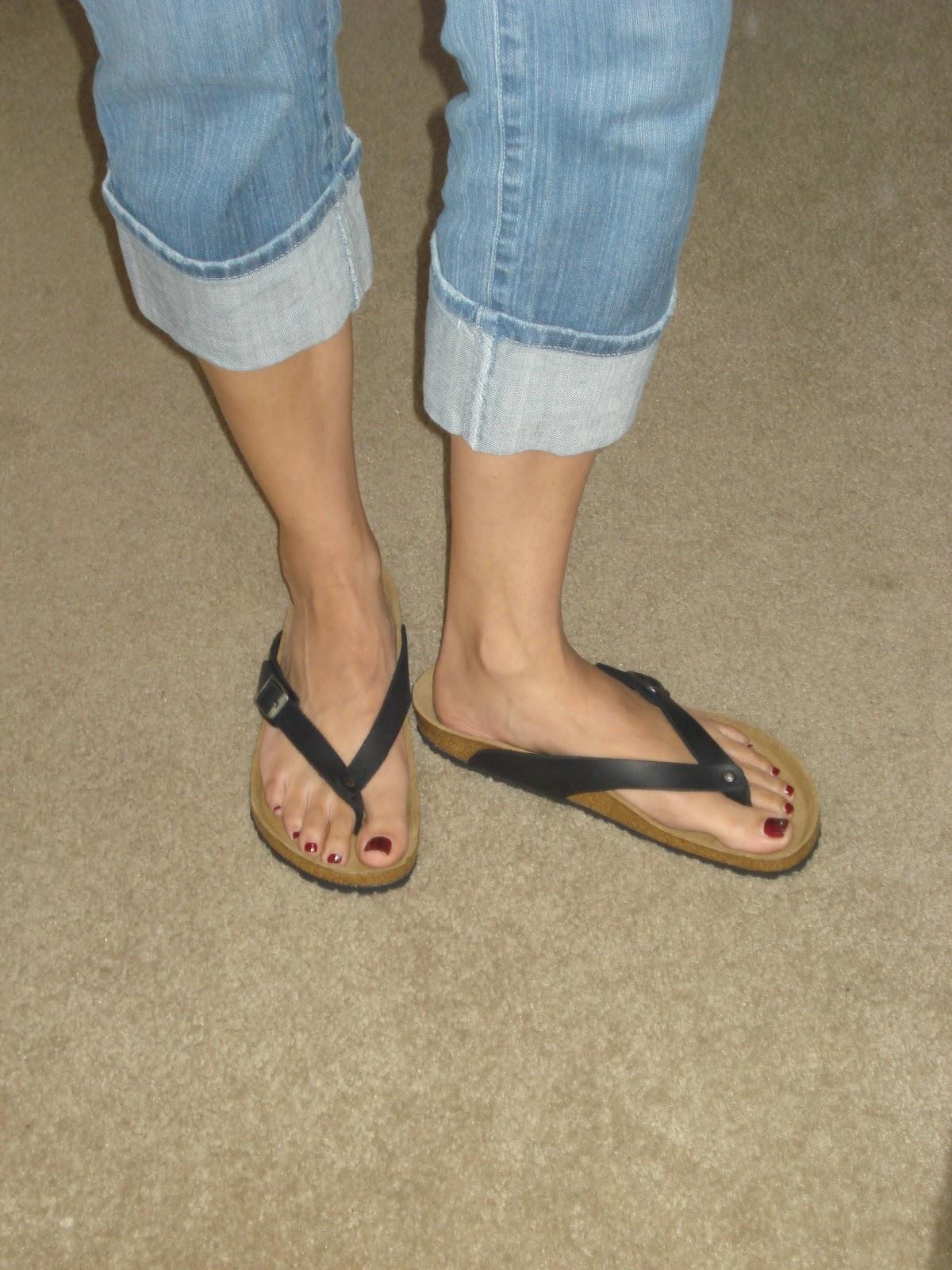 Flip flops cum