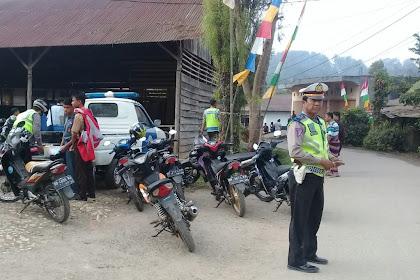 Pelanggaran Lalu Lintas di Toraja Utara Didominasi Usia Millenial