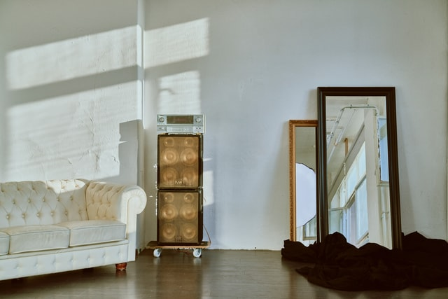 Mirrors as a great example of how to brighten up a room when trying to sell a house