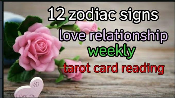 12 zodiac signs love relationship weekly tarot card reading।। June2021Rashifal