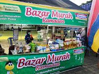 Pasar Ramadhan Berkah Dibuka, Bupati Minta Jaga Prokes