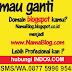Jasa Ganti Domain Blogspot menjadi .com