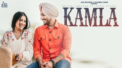 Kamla Lyrics- Rajvir Jawanda   Sara Gurpal   G Guri  Latest Punjabi Song   New Song 2020