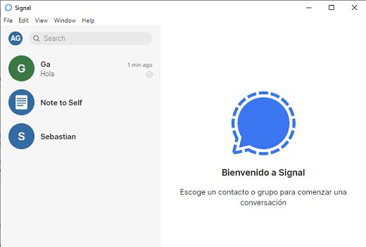 Signal entrar en PC