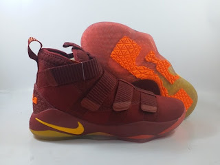 Nike LeBron Soldier 11 - Red Wine