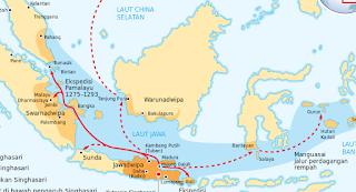 Wilayah kekuasaan Kerajaan SIngasari