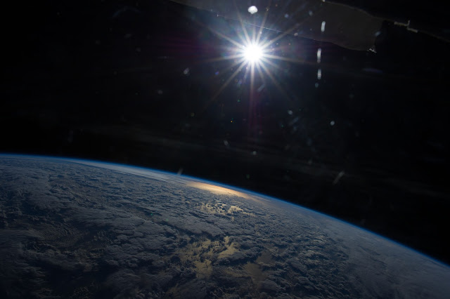 Terra and Sol seen from the International Space Station