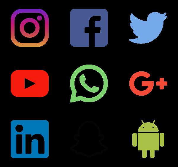 تحميل 49 ايقونة لمواقع التواصل الاجتماعي المختلفة ولتصميم بجود عالية Png Psd