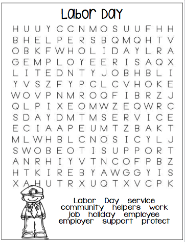 1st Grade Hip Hip Hooray!: Word Searches