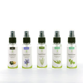 Assorted All-natural Sanitizer with Essential Oils 50mL image