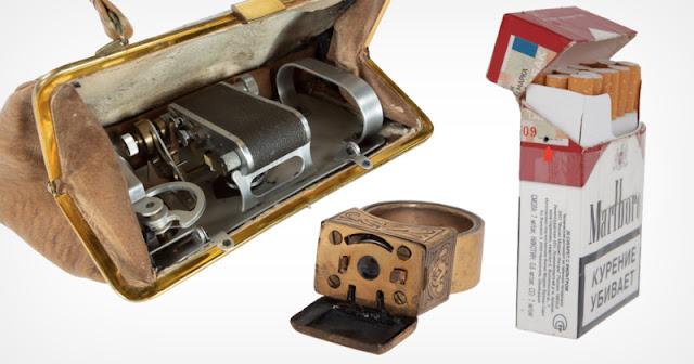 All'asta la più grande collezione di fotocamere spia del KGB